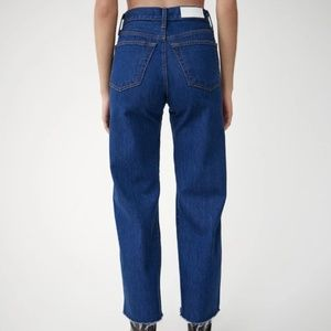 Re/Done Jeans - RE/DONE Wide Leg Crop Jeans